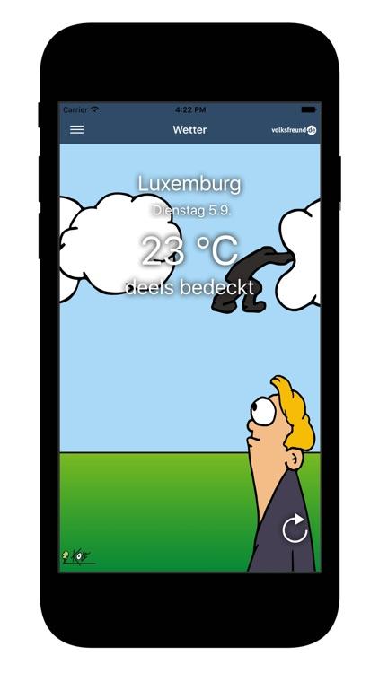 Wetter für Lëtzebuerg