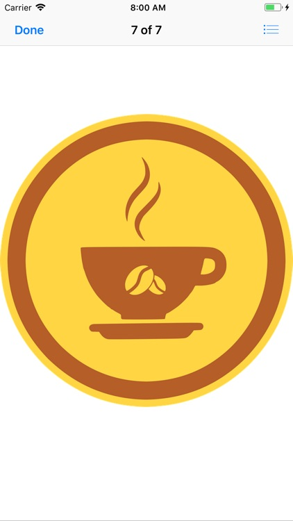 Coffee Bean Stickers screenshot-8