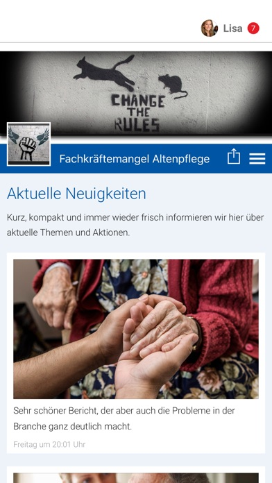 Fachkräftemangel AltenpflegeScreenshot von 1