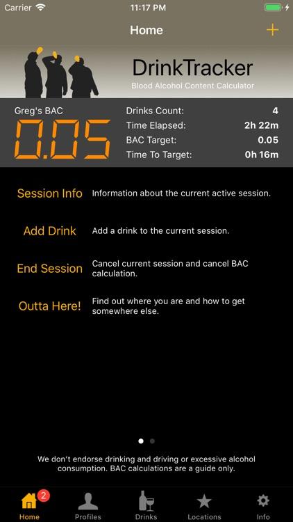 DrinkTracker Breathalyzer screenshot-3