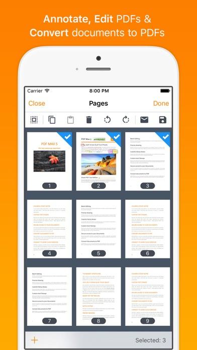 Screenshot #3 pour PDF Max Pro - #1 PDF app!