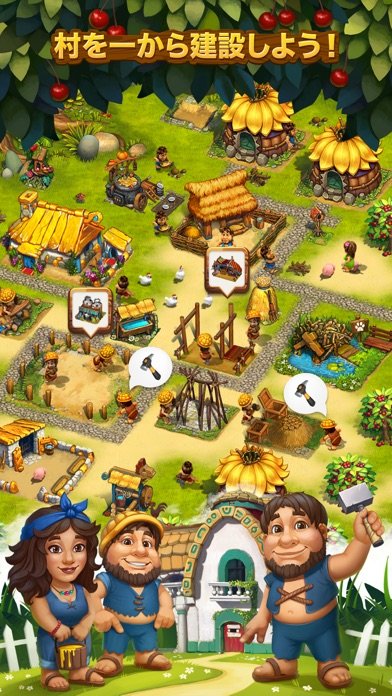 The Tribez: Build a V... screenshot1