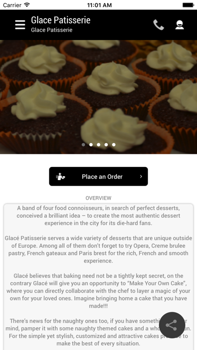 Glace Patisserie screenshot two