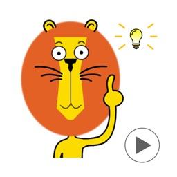 Alex - Lion Emoji GIF