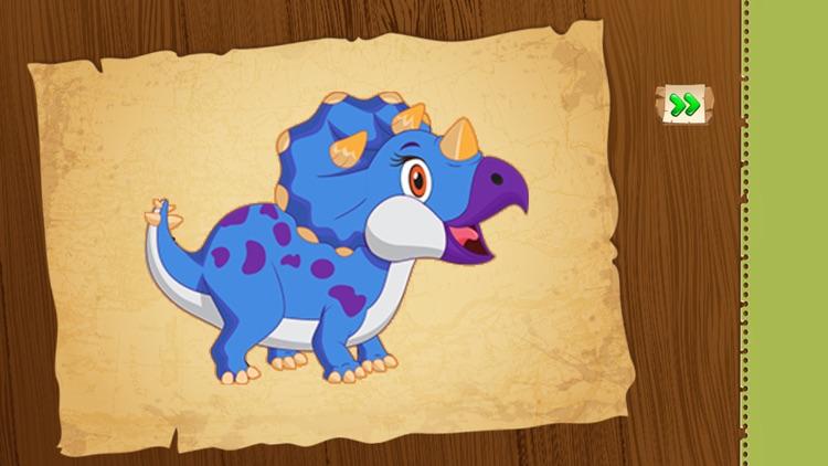 Puzzle Game : Dinosaur Kids!