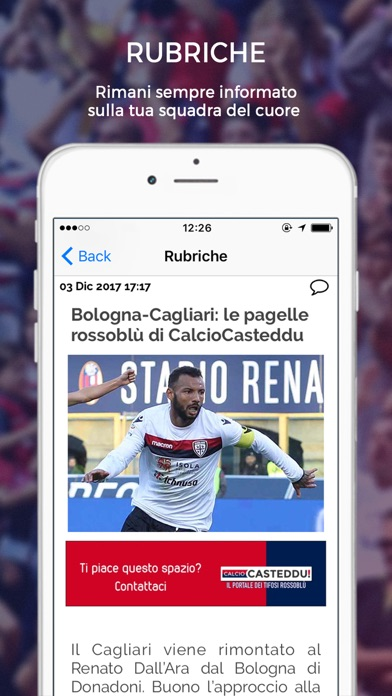 Calcio Casteddu screenshot 3