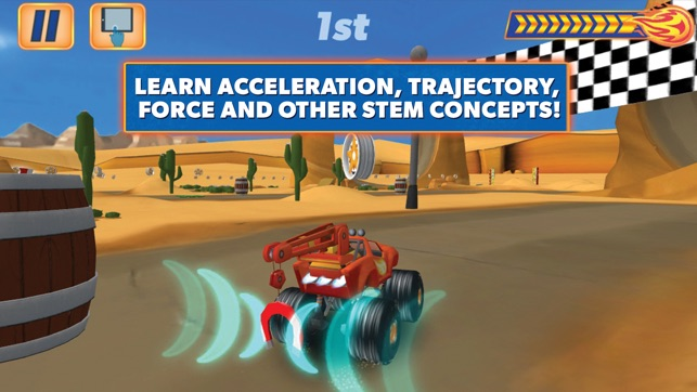 Blaze Amp The Monster Machines On The App Store