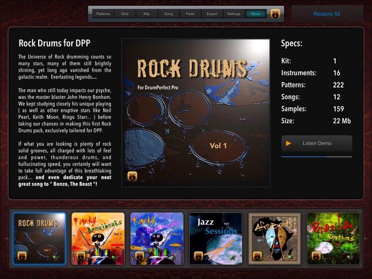 DrumPerfect Pro screenshot-4