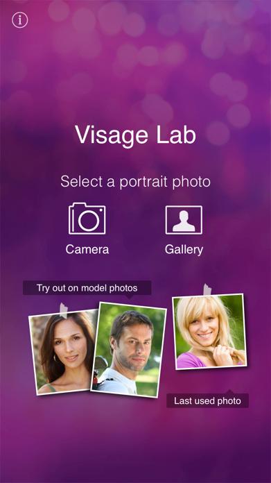 Visage beauty selfie cam plus Screenshot
