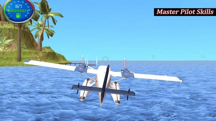 Flying Sea Stunts 3D