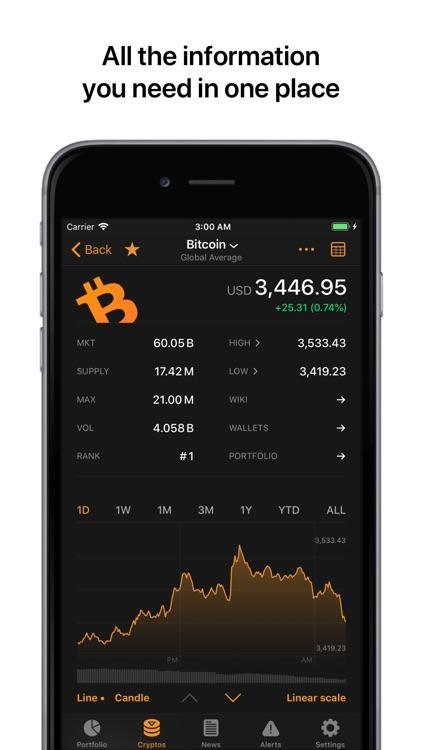 Crypto Pro: Bitcoin Tracker screenshot-4