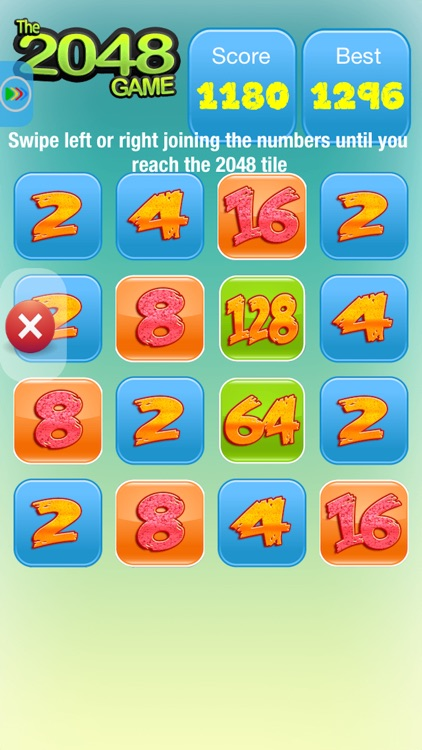 The 2048 Game - Test your Math Skills