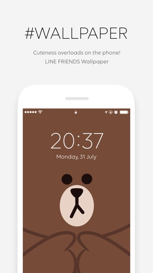 Line Friends Wallpaper Gif On The App Store