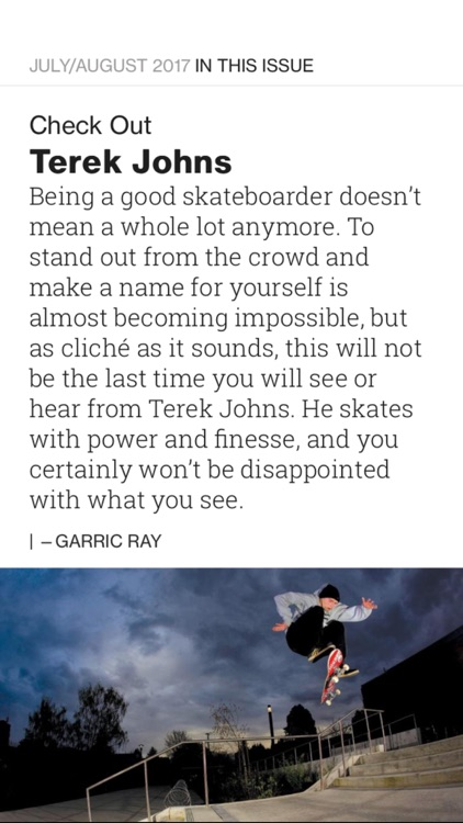 TransWorld Skateboarding Magazine screenshot-4