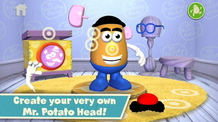 Mr Potato Head: Create & Play
