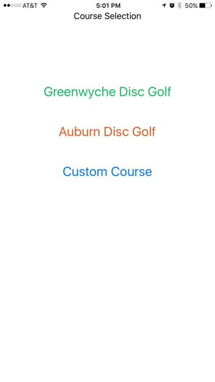 Greenwyche Disc Golf
