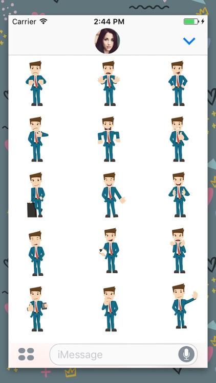 Gentleman : Animated Stickers