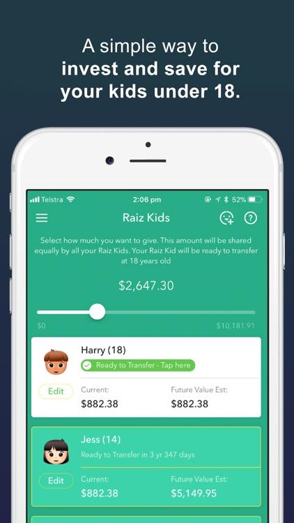Raiz - Invest The Spare Change screenshot-5