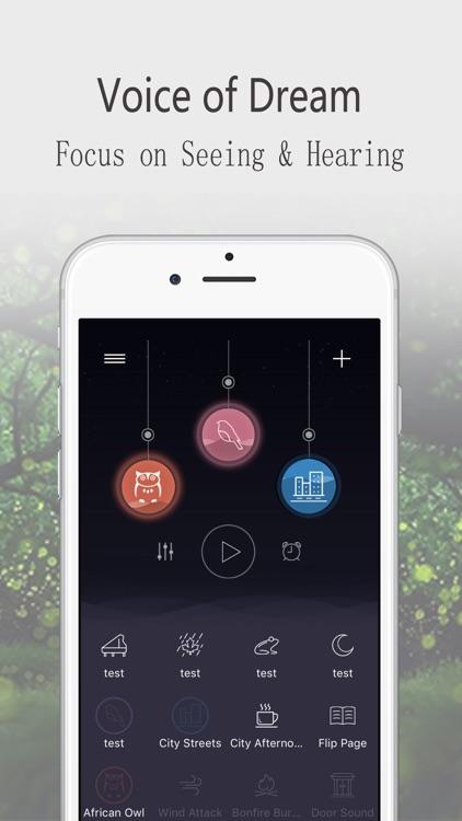 Sleep sounds:Relax Melodies screenshot-0