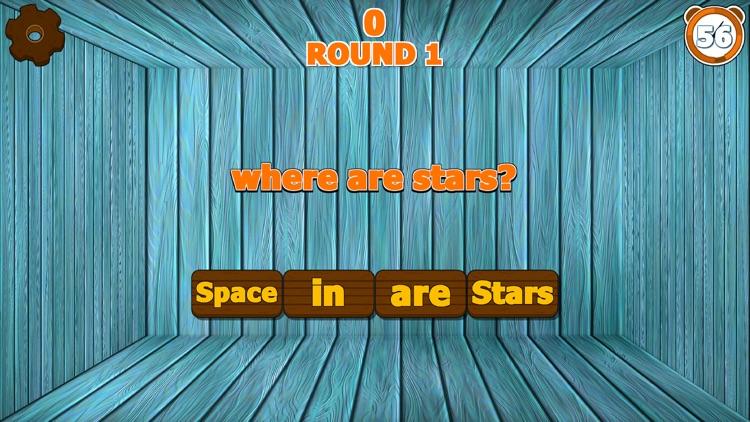 Sentence Scramble Game Full screenshot-4
