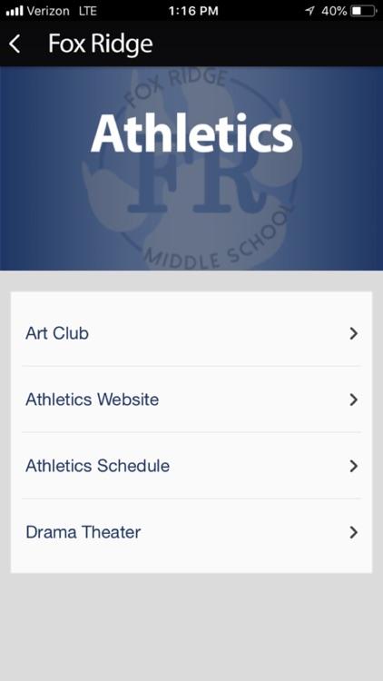 Fox Ridge Middle School App screenshot-4