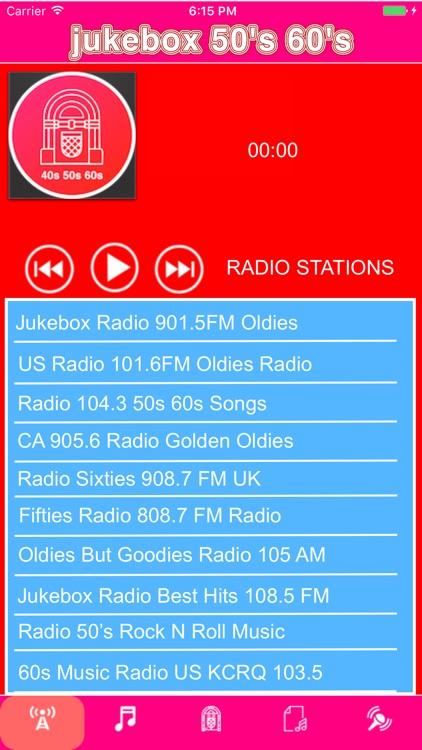 jukebox 50's & 60's