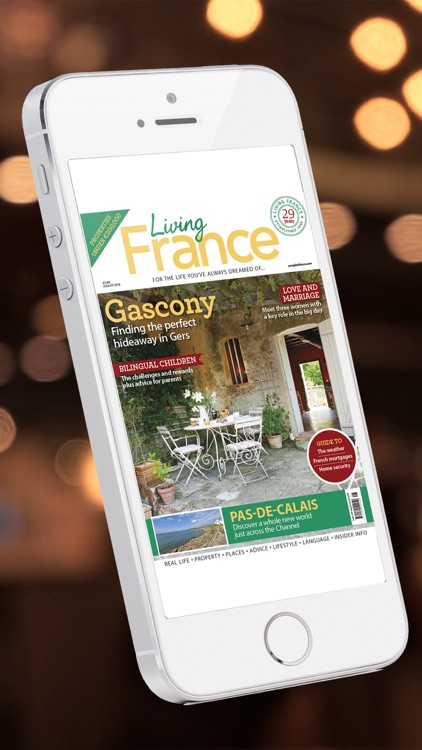 Living France Magazine screenshot-0