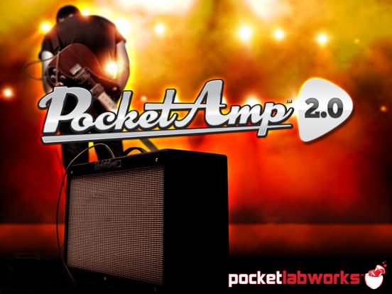 pocketamp guitar amp effects app insight download. Black Bedroom Furniture Sets. Home Design Ideas
