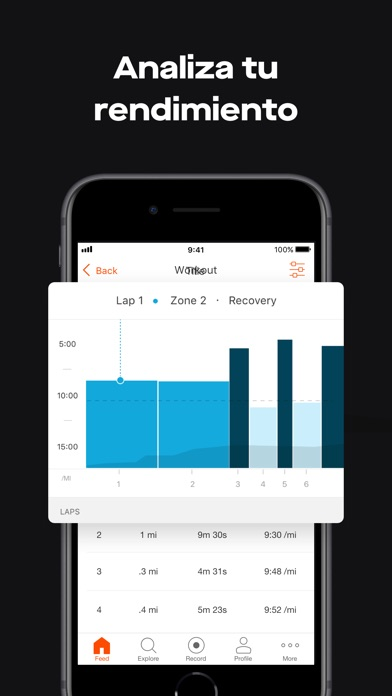 Screenshot for Strava GPS Correr Ciclismo in Dominican Republic App Store