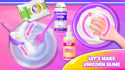 Unicorn Slime - Trendy Fun screenshot two