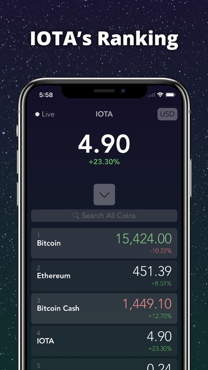 IOTA Tracker Live screenshot-2