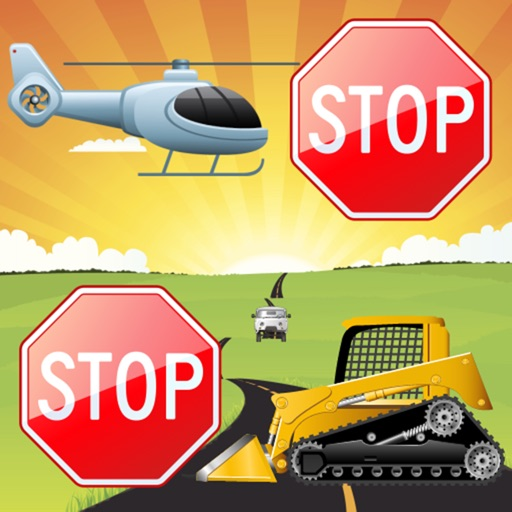Vehicles Games for little Kids iOS App