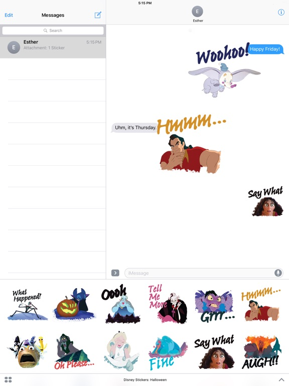 Disney Stickers: Halloween screenshot 9