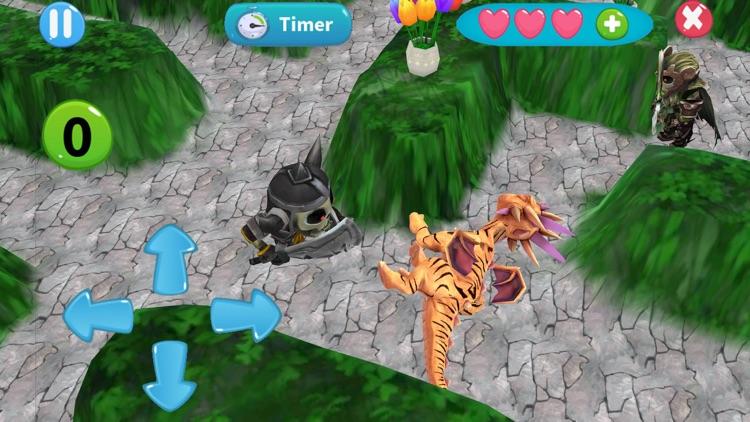 Dragon egg chase city screenshot-3