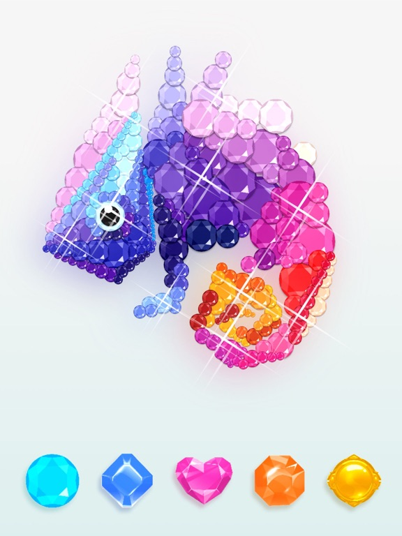 No.Diamond – 番号で着色のおすすめ画像5