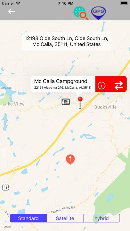 Southern Region Camps & RV's screenshot-3