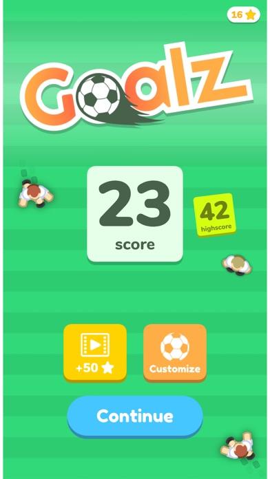 Goalz . screenshot 4