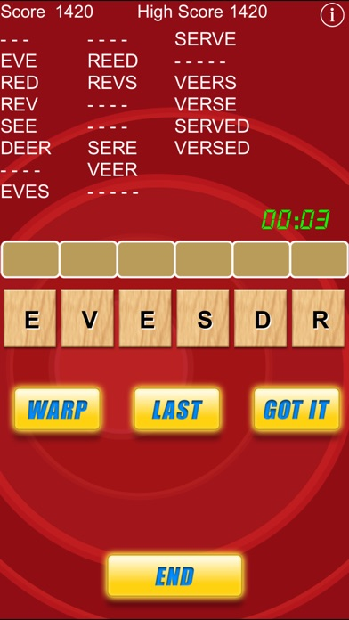 Word Warp - A Word Puzzle Game Скриншоты6