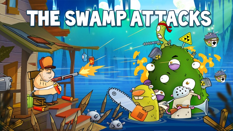 Swamp Attack screenshot-0