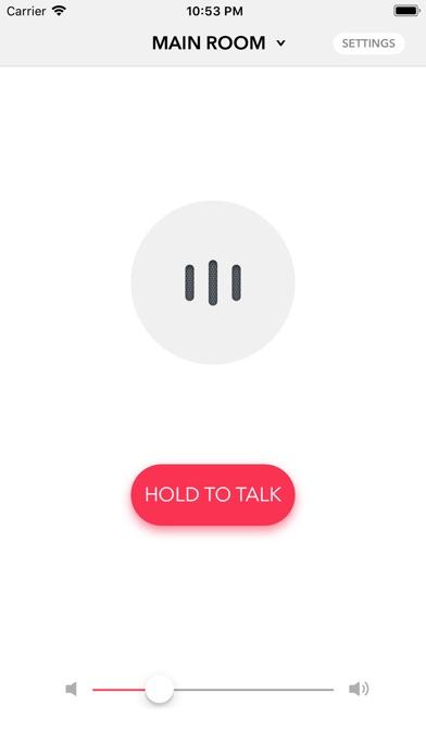 Voice Intercom for Sonos screenshot 1