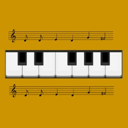 Piano Notes: Learn & practice sight reading music