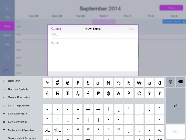 Uni Keyboard On The App Store