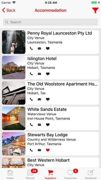 Weddings Tasmania Planner screenshot-3