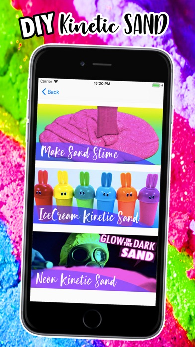 DIY Kinetic Sand Recipe screenshot three