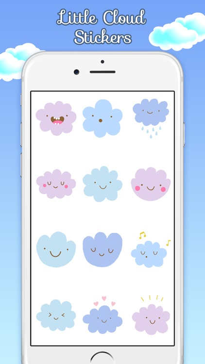 Little Cloud Stickers screenshot-1