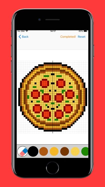 Pixel Art Puzzles Coloring screenshot-9