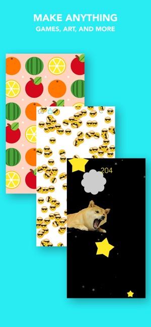 Hopscotch: Make Games Screenshot