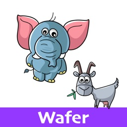 Animal Stickers (Wafer)