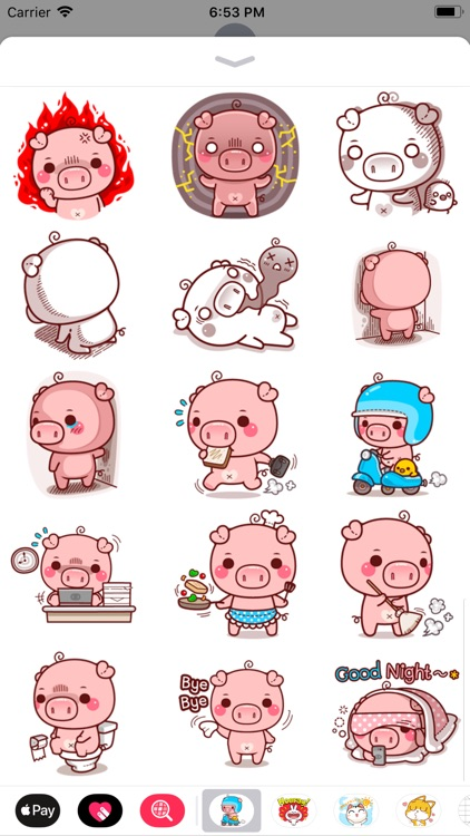Pinky Pig Sticker screenshot-4