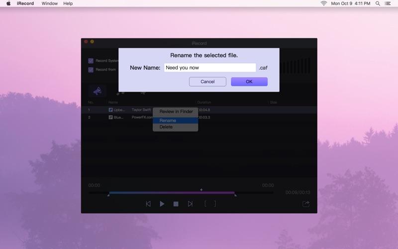 iRecord Screenshots